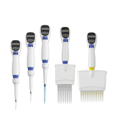 Labnet's EXCEL electronic pipettes