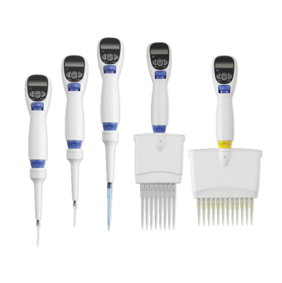 Excel electronic pipettes