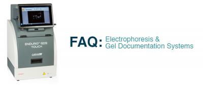 Labnet International: FAQ: Electrophoresis & Gel Documentation Systems Header