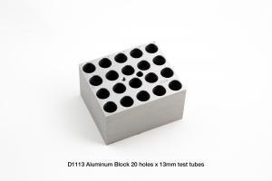 D1113 Block, 20 x 13mm Tubes