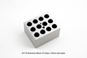 D1116 Block, 12 x 15 or 16mm Tubes