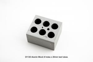 D1120 Block, 6 x 2mm Tubes