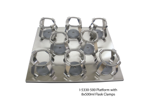 Platform with 8x500ml Flask Clamps
