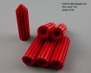 C0232-9B 5 and 7mL Adapter pack of 6