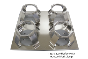 Platform with 4x2000ml Flask Clamps